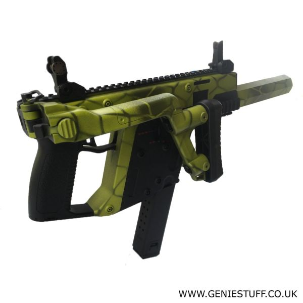 A&K MOD1  2Tone Green Airsoft Gun AEG with Free UK Delivery